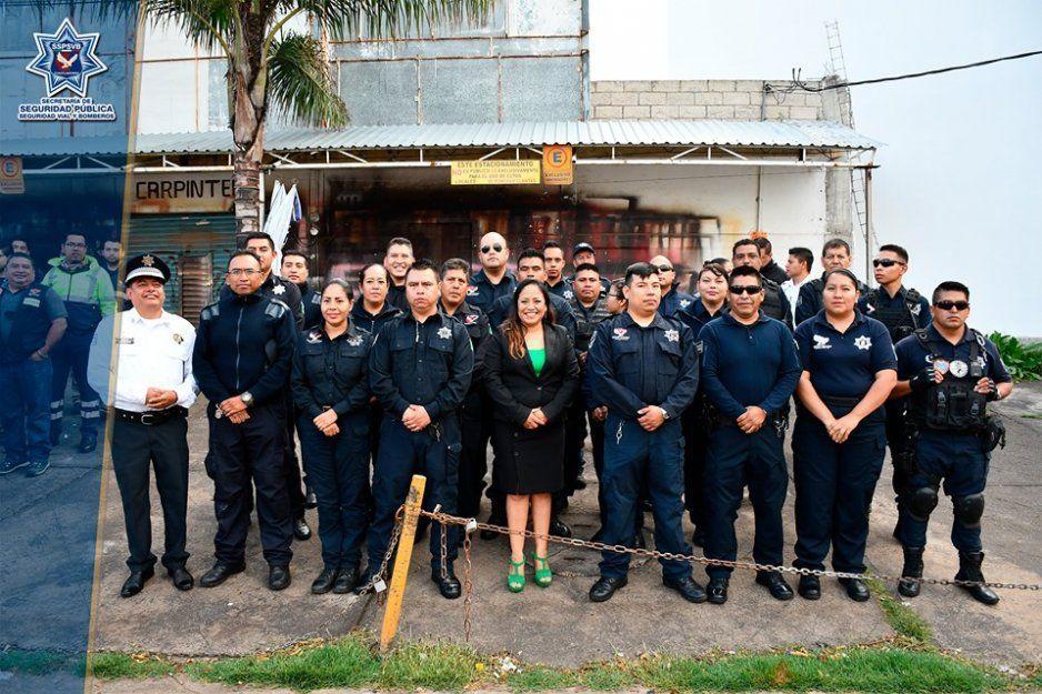 Entrega alcaldesa Lupita Daniel cuatro patrullas  para Seguridad Pública de Cuautlancingo