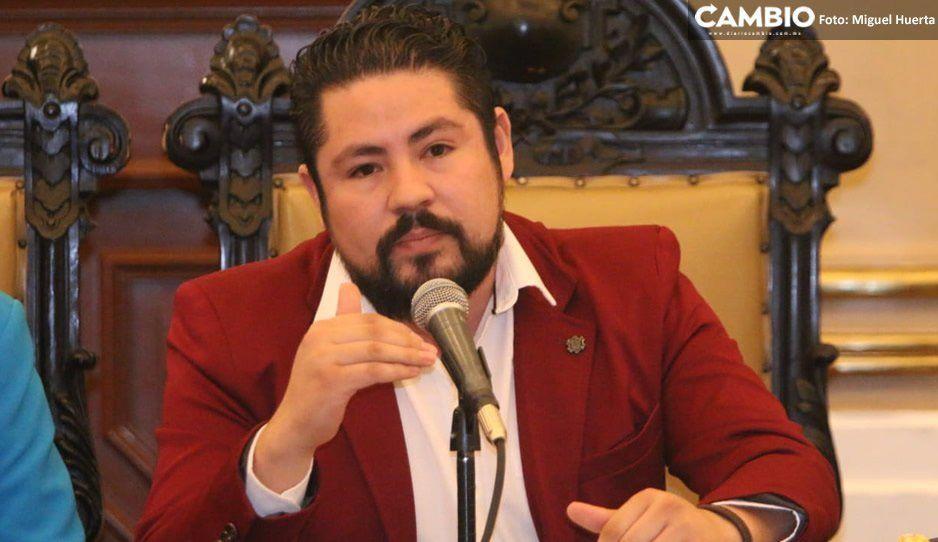 Ayuntamiento no otorgó ningún permiso para que ambulantes se colocaran hoy en el Centro: Iván Camacho