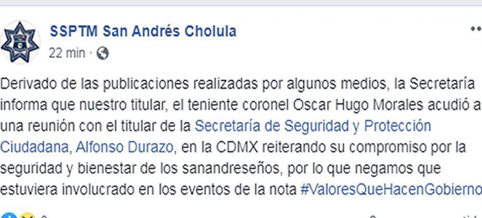 Comisario de Karina Pérez, acepta que polis andaban de jarra; pero se deslinda del festejo