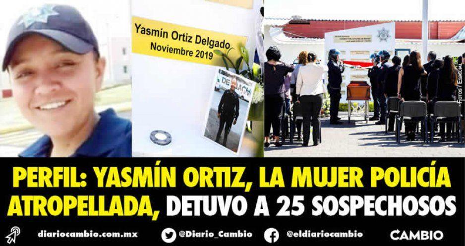 Rinden homenaje a mujer policía atropellada: detuvo a 25 delincuentes en dos años