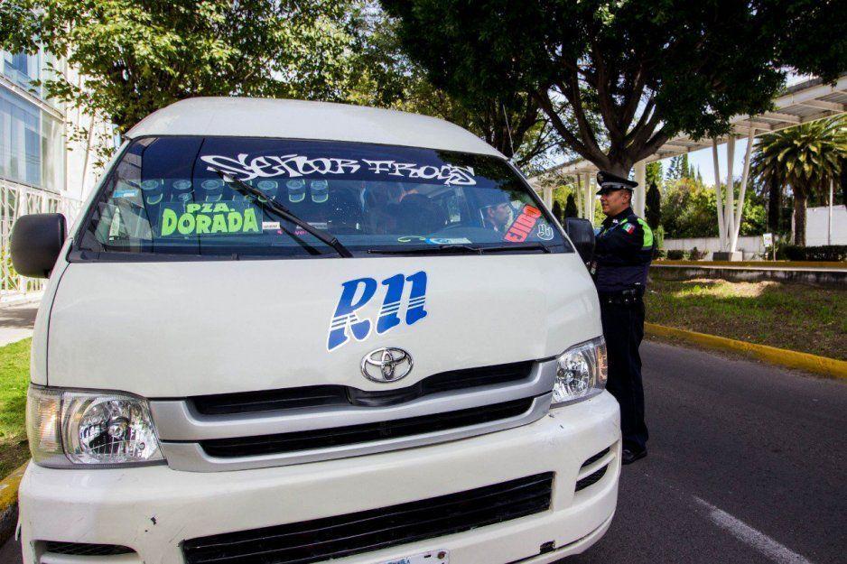 Ante tarifazo realizan operativo al transporte público: 395 supervisiones en 147 rutas