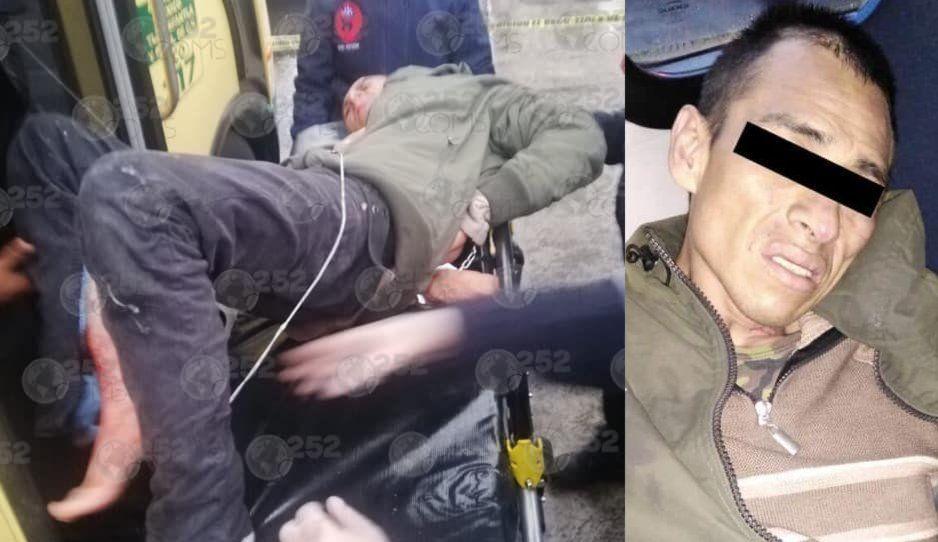 Pasajeros matan a asaltante y dejan gravemente herido a su cómplice