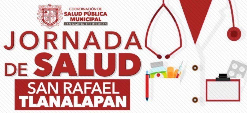 Texmelucan organiza jornada médica y servicios este 28 de junio en San Rafael Tlanalapan