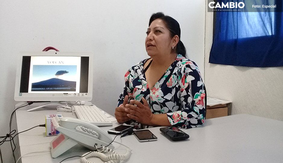 Texmelucan está preparado con alberges ante alguna contingencia del volcán Popocatépetl