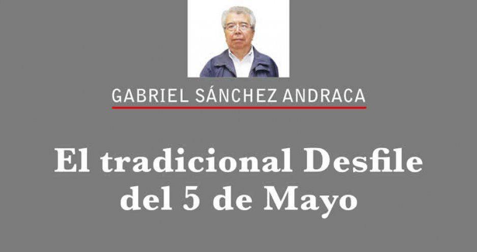 El tradicional Desfile del 5 de Mayo