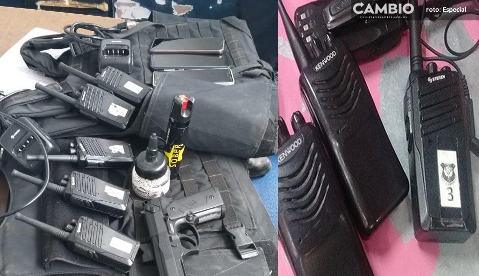 Comerciantes corrompen a policías para dañar a sus enemigos tianguistas en Texmelucan