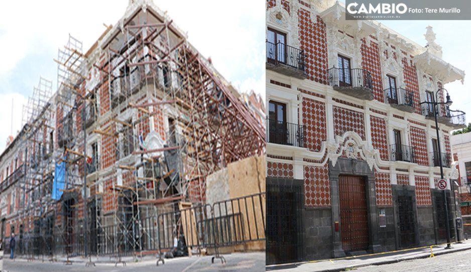 A dos años del 19-S, 47% de avance tiene la reconstrucción del patrimonio cultural en Puebla