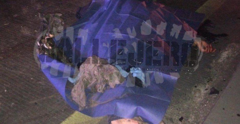 Amanece muerto en la México-Puebla tras ser atropellado a la altura de San Jerónimo Caleras