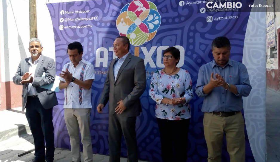 Reaparece Memo Velázquez en Atlixco tras su fallido intento de ser candidato a gobernador