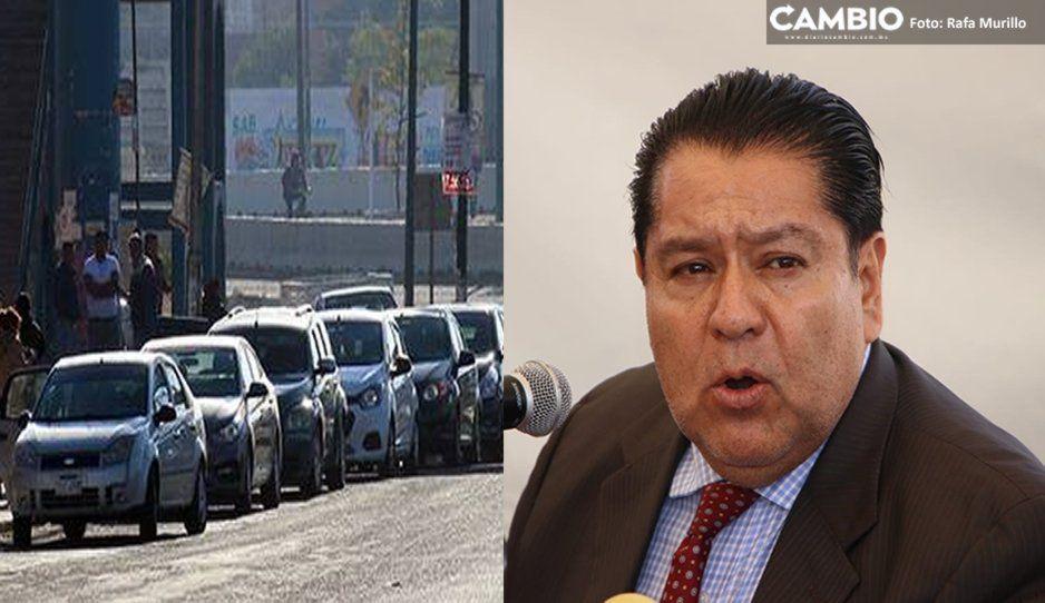Confirma Aréchiga que esta semana fueron asegurados 14 taxis piratas en zona del Periférico