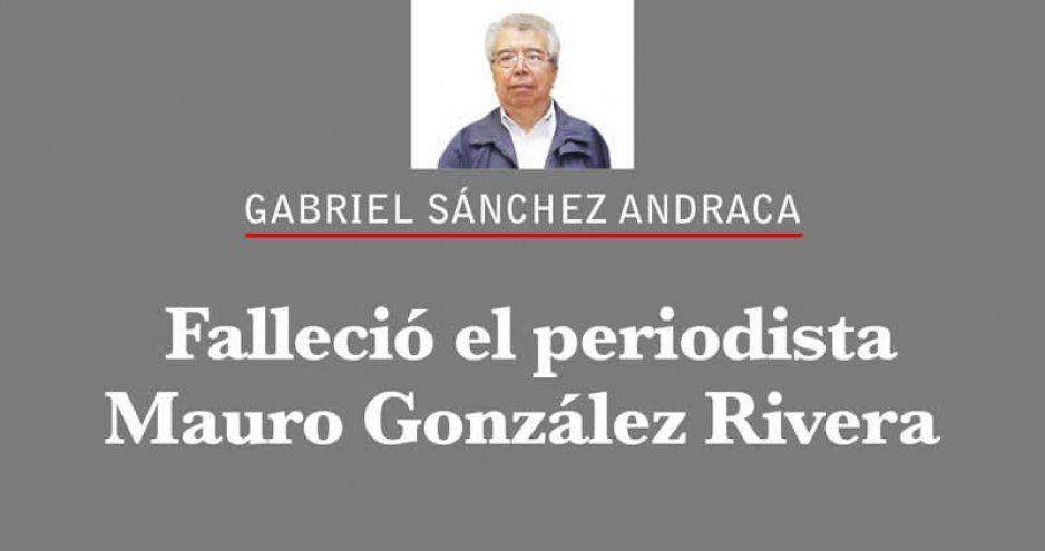 Despide Sánchez Andraca a su amigo Mauro González