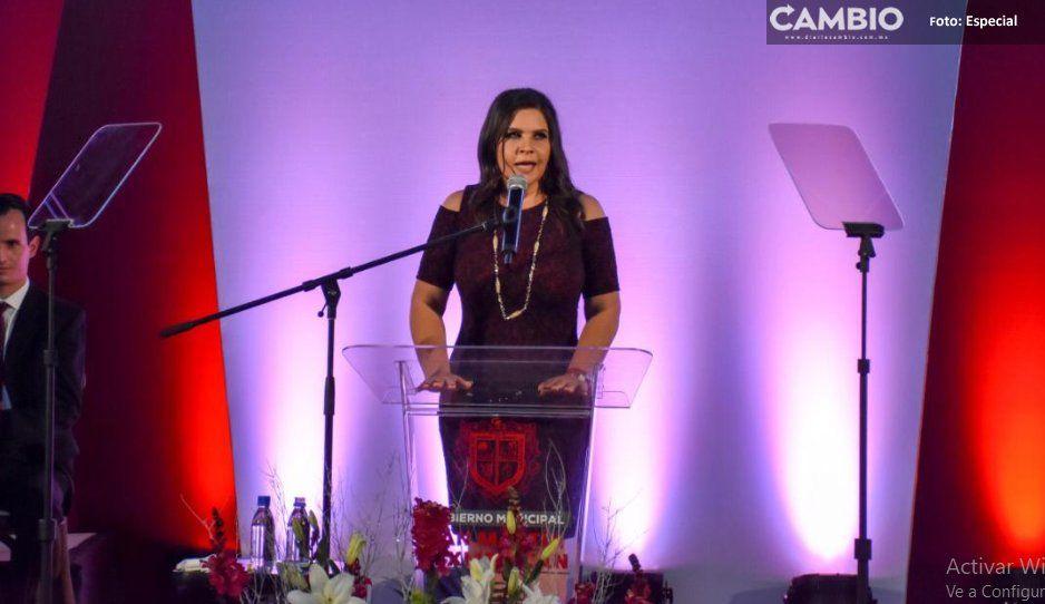 Norma Layón presenta su informe con respaldo  de gobernador Miguel Barbosa en Texmelucan