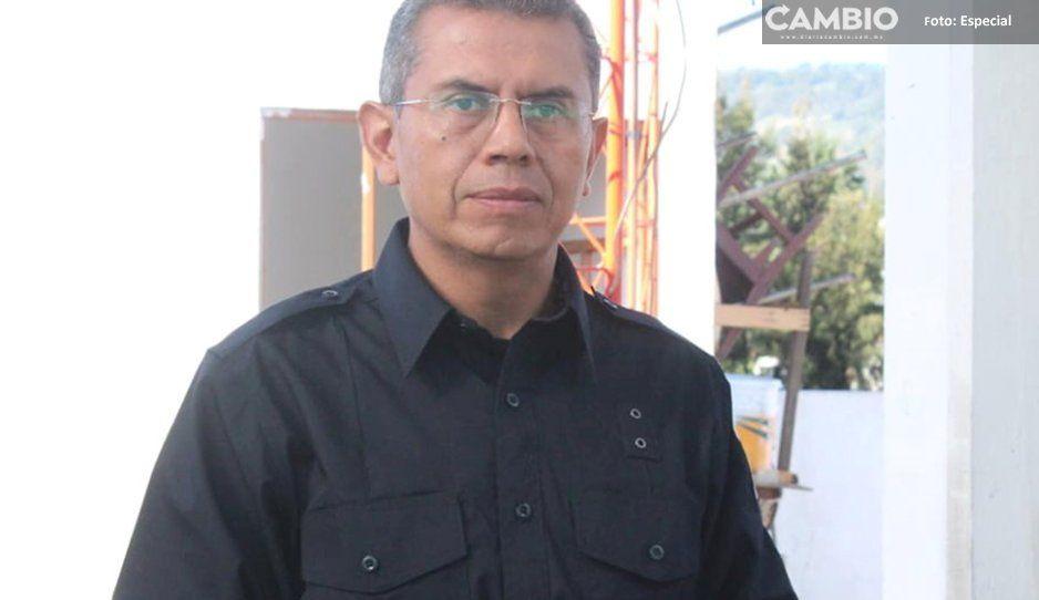 De la Rosa delega seguridad de Amozoc a funcionario con antecedentes penales