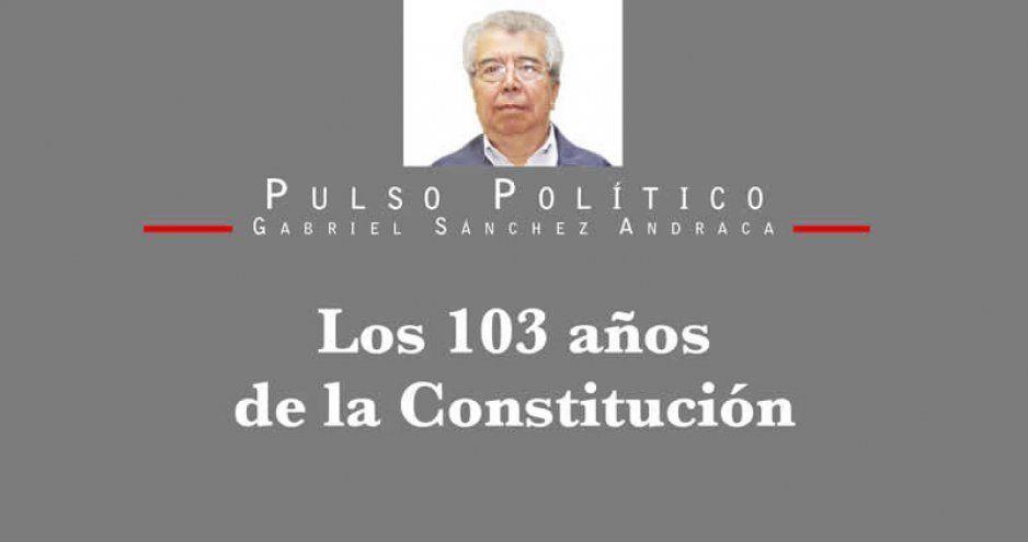 Los 103 años de la Constitución