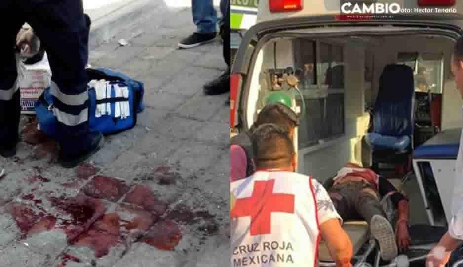Terror en Huejotzingo: deja dos lesionados sangrienta balacera en el centro (VIDEO)