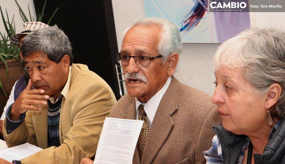 Jubilados BUAP apoyan auditoría: rectores han usado la universidad para enriquecerse