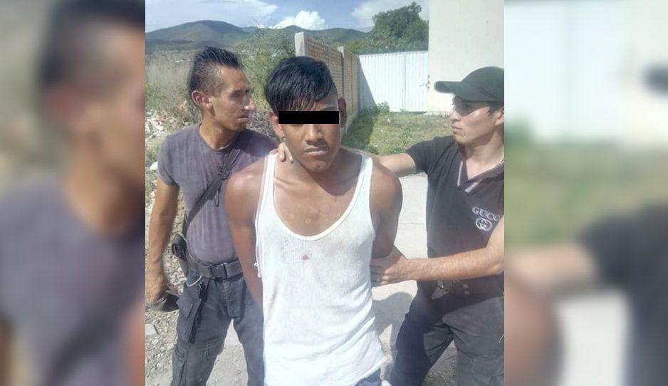 Atrapan a fichita en San Vicente Ferrer: Además de ratero, golpeador de mujeres