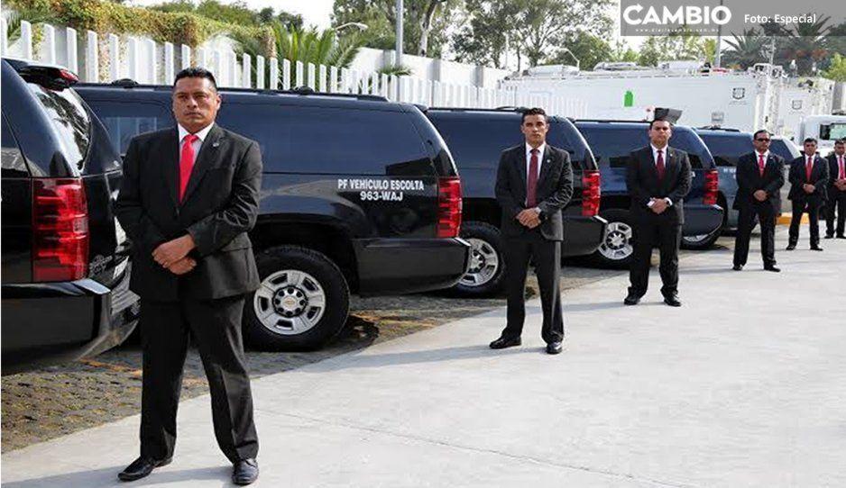 Policía Federal asignó 190 escoltas a diputados y senadores antes de desaparecer
