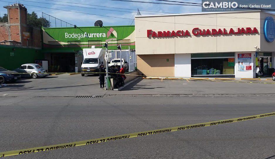 Atacan a balazos a motociclista frente al Aurrera de Clavijero