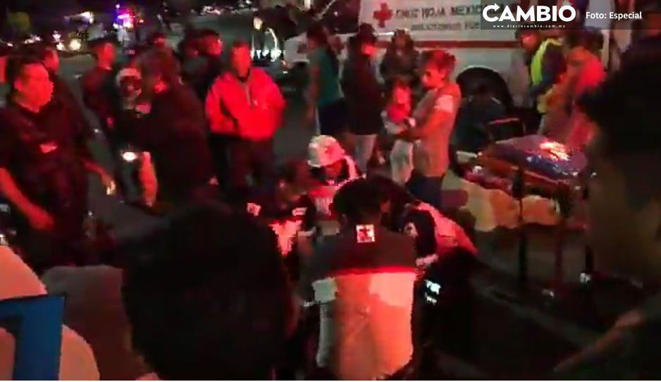 Un muerto y siete heridos en terrible accidente en Juan C Bonilla