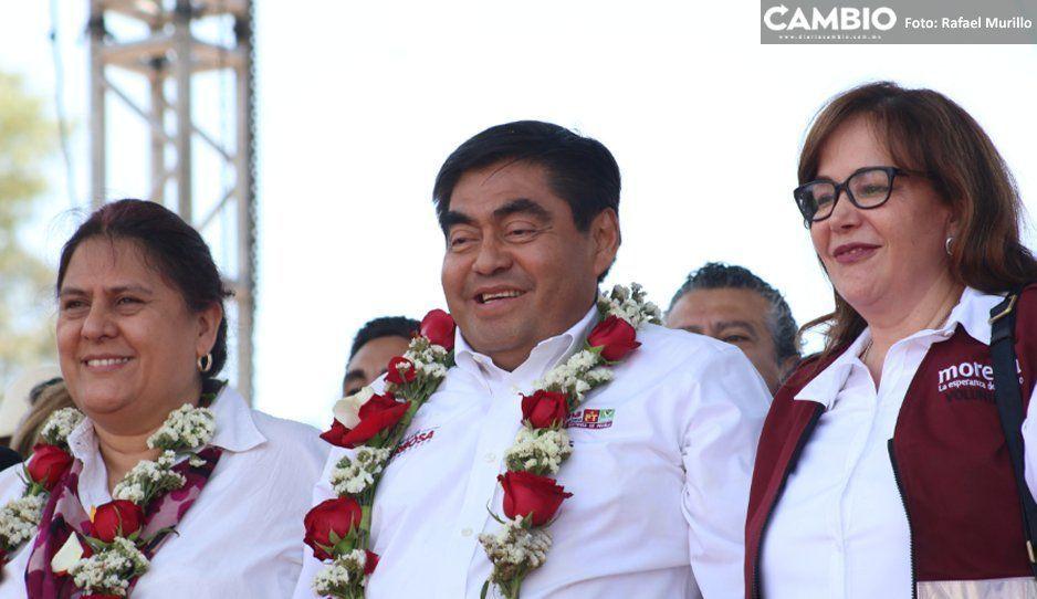 Rayo reconciliador de Barbosa intercedió con Yeidckol y Armenta, vuelve la unión