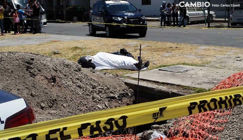 Muere motociclista al caer en una zanja en La Margarita (FOTOS)