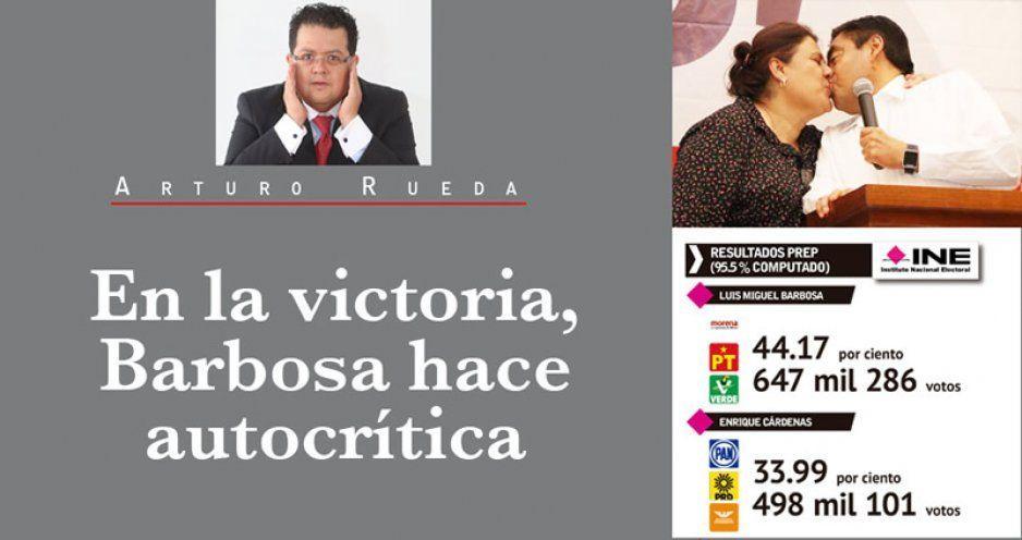 En la victoria, Barbosa hace autocrítica