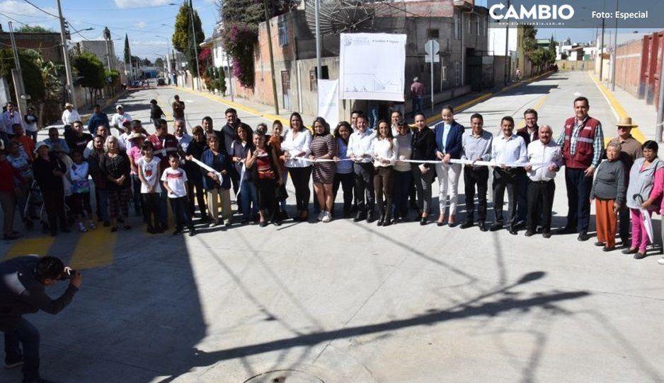 Ayuntamiento de San Pedro Cholula invierte  más de 4 millones de pesos en Momoxpan