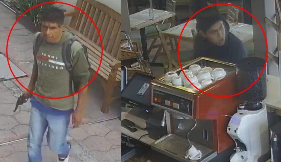 Estos son los ladrones del Tagers que balearon a un Policía Estatal (FOTOS y VIDEO)