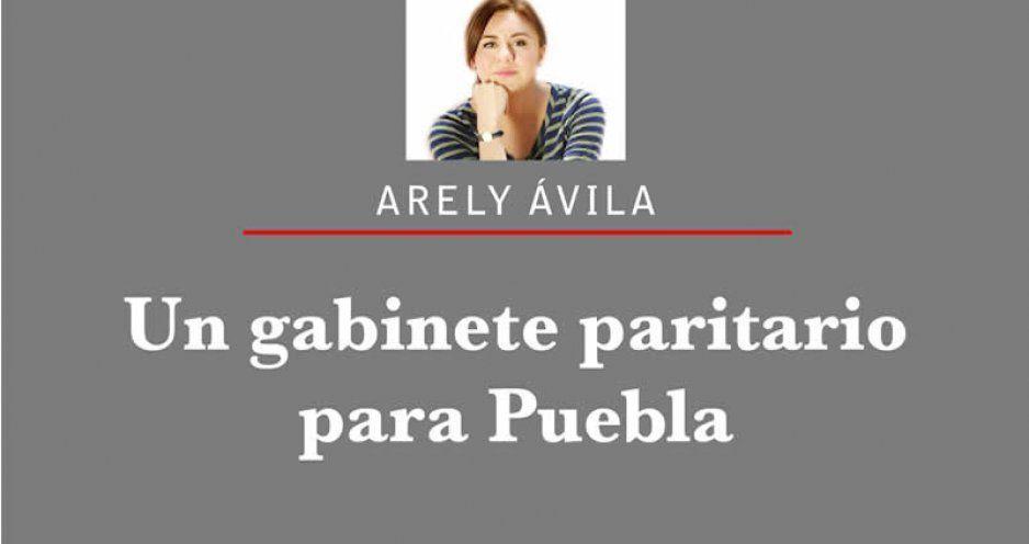 Un gabinete paritario para Puebla