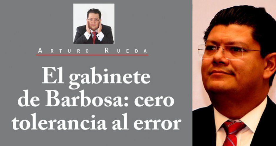 El gabinete de Barbosa: cero tolerancia al error