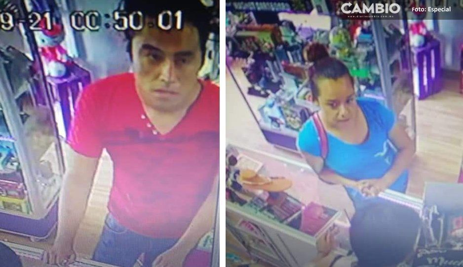 Pareja de ladrones, asalta tiendita y casi los linchan en Tecamachalco