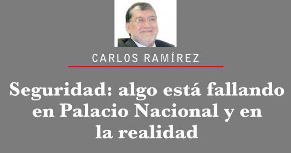 Seguridad: algo está fallando en Palacio Nacional y en la realidad