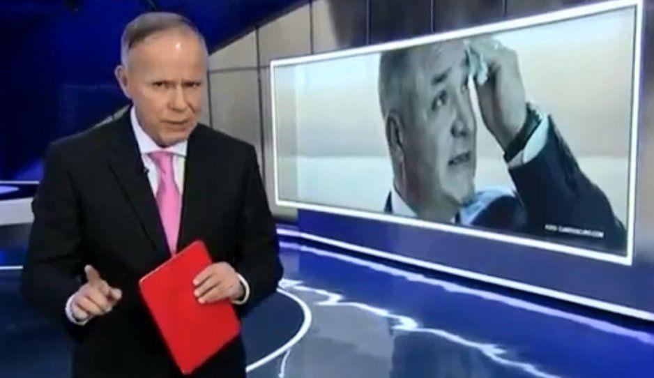 Ciro Gómez Leyva sale a la defensa de García Luna y lo destrozan en redes (VIDEO)