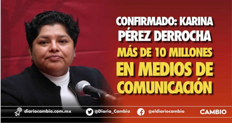 Confirmado: Karina Pérez derrocha más de 10 millones en medios de comunicación