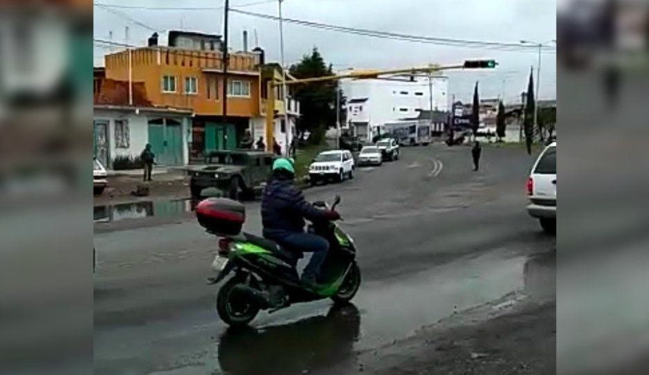 Guardia Nacional realiza dos fuertes operativos en Huejotzingo