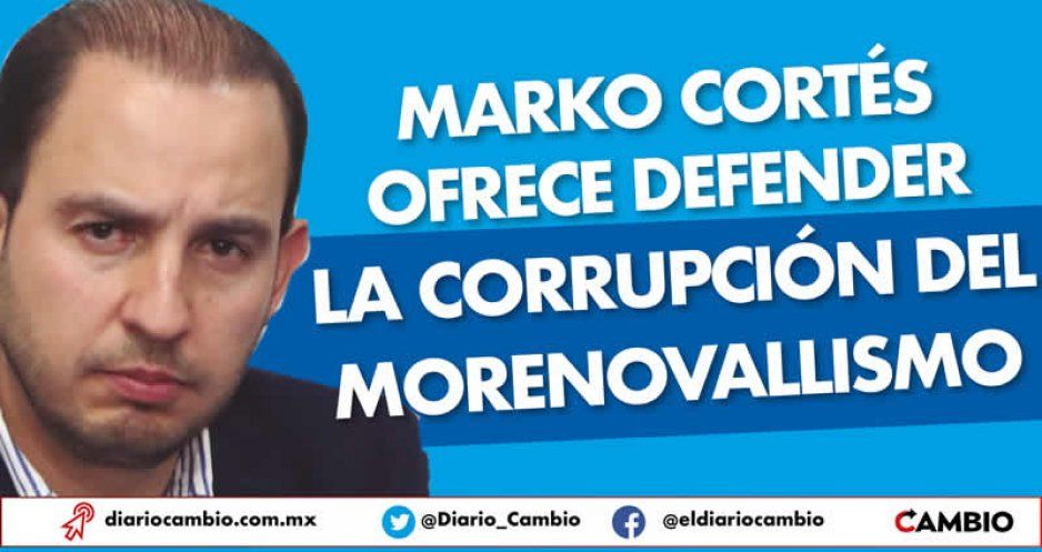 Marko Cortés ofrece defender la corrupción del morenovallismo (VIDEO)