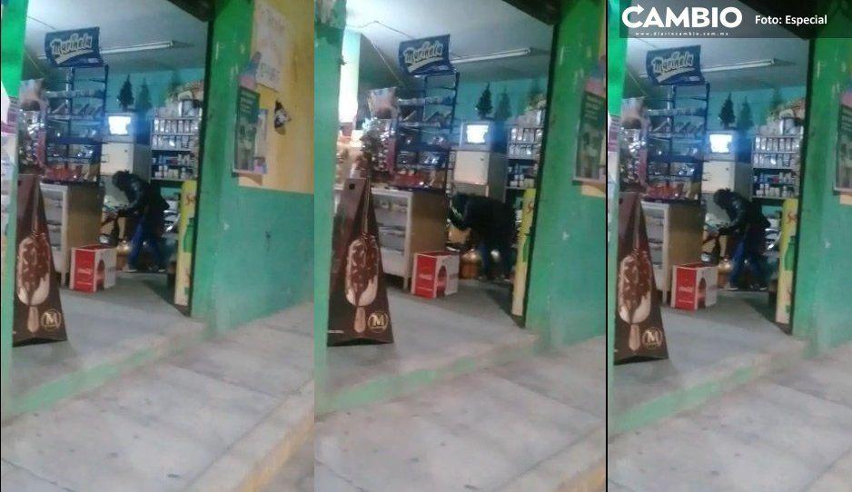 Así apuñaló joven drogada a su padrastro en Acatzingo (IMÁGENES FUERTES)