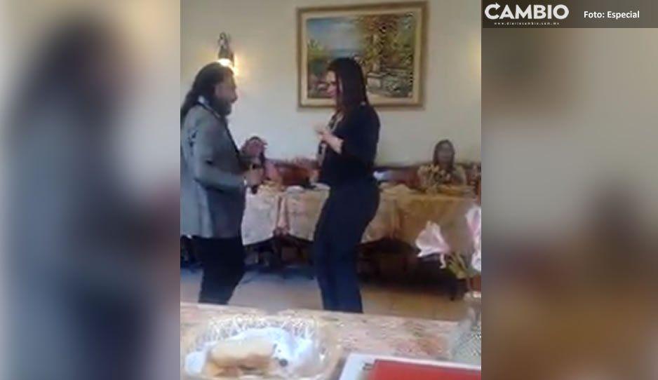 Norma Layón le saca brillo a la pista mientras Texmelucan atraviesa grave problema de inseguridad (VIDEO)