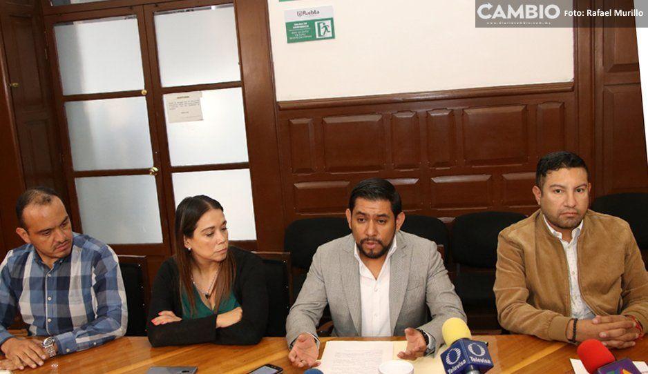 Normatividad cobra moches a locatarios  de hasta 120 mil pesos: regidores del G5