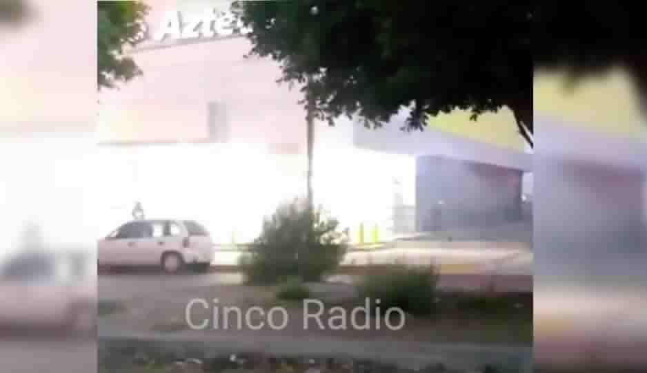 VIDEO: Incendio en Elektra de Héroes