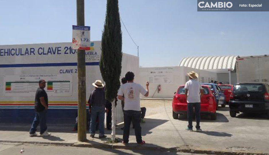 A plena luz del día, disparan frente a Centro de Verificación en Ciudad Serdán