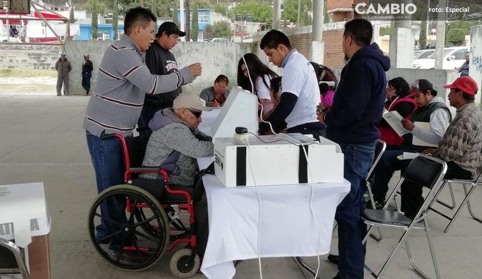 Copiosa participación en Mazapiltepec de Juárez