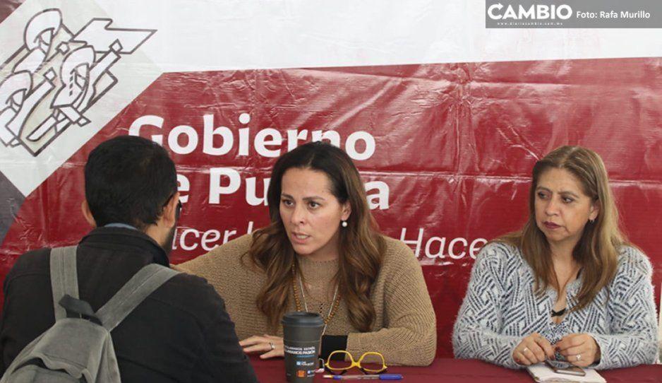 Igualdad Sustantiva atiende peticiones de poblanos en el Martes Ciudadano