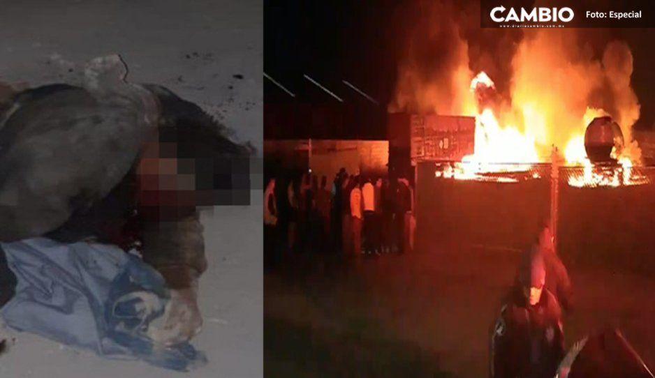 Explosión en el Parque Industrial Chachapa pudo ser causada por el uso de un encendedor