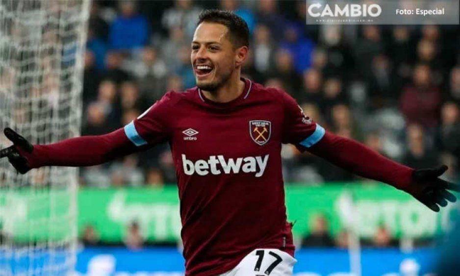 """Este es el nuevo numeró en el dorsal del """"Chicharito"""" con el West Ham"""