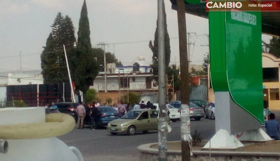 Balacera en la federal a Tehuacán provoca pánico en Amozoc