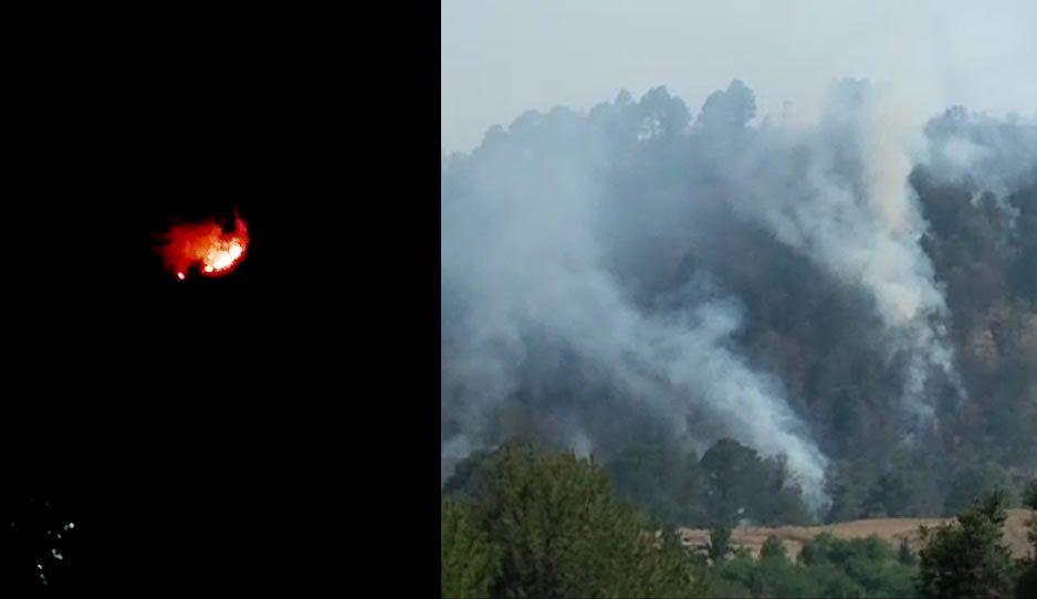 Autoridades de Tlahuapan siguen sin atender incendio en el Bosque de la Luciérnaga en Tlahuapan