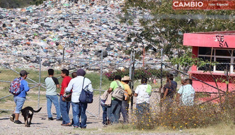Tendrán que pagar por ocupar ejidos para el relleno sanitario de Izúcar de Matamoros