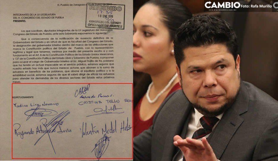 Cinco diputados del bloque proponen a Miguel Trujillo de Ita para Interino y desprecian a Biestro